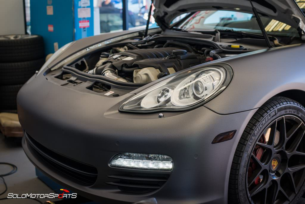 Porsche Panamera 4s In For Sms Tune Solo Motorsports