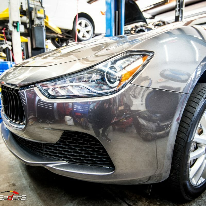maserati ghibli new brakes job service maintenance repair atlanta