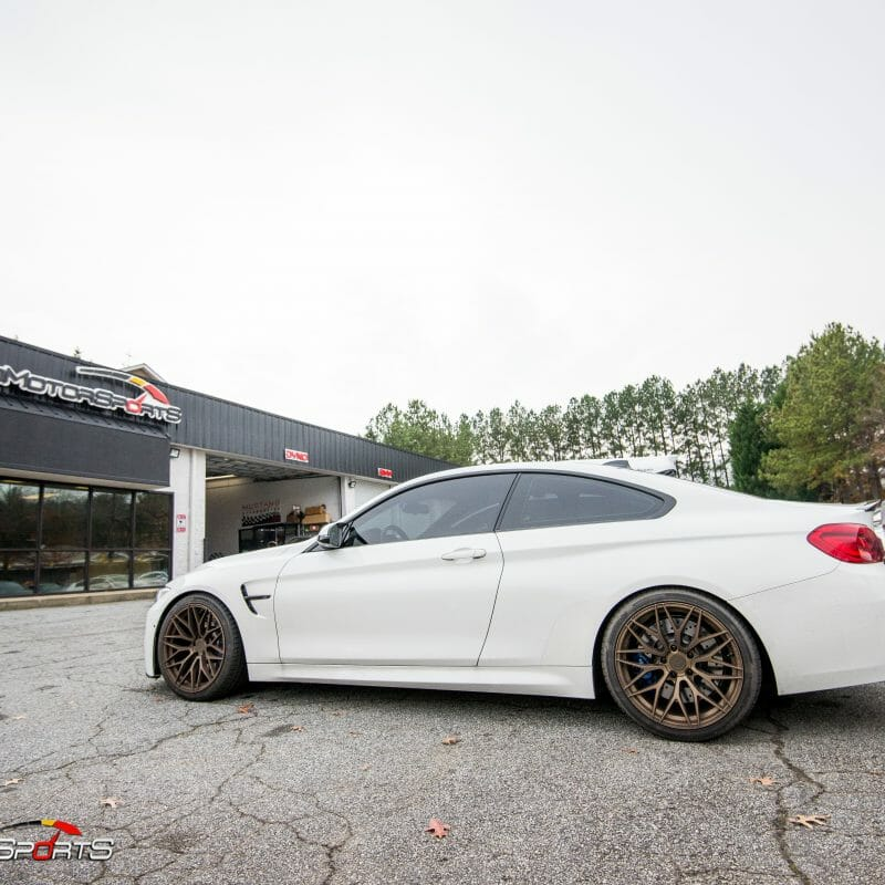 bmw f82 m4 in for front lip carbon fiber spoiler install carbon fiber front lip installation