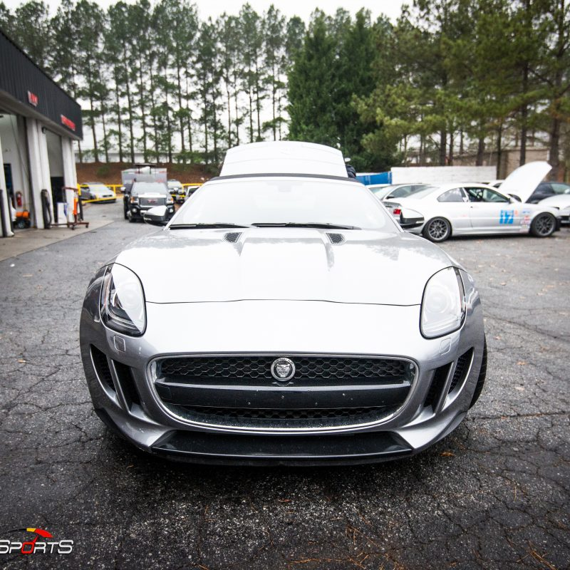 jaguar f-type ftype f type jag bike rack roadster atlanta georgia one stop shop custom bicycle rack carrier customfab fabrication