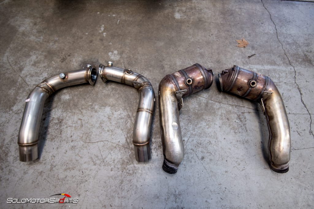 Bmw F10 M5 Custom Downpipes Solo Motorsports