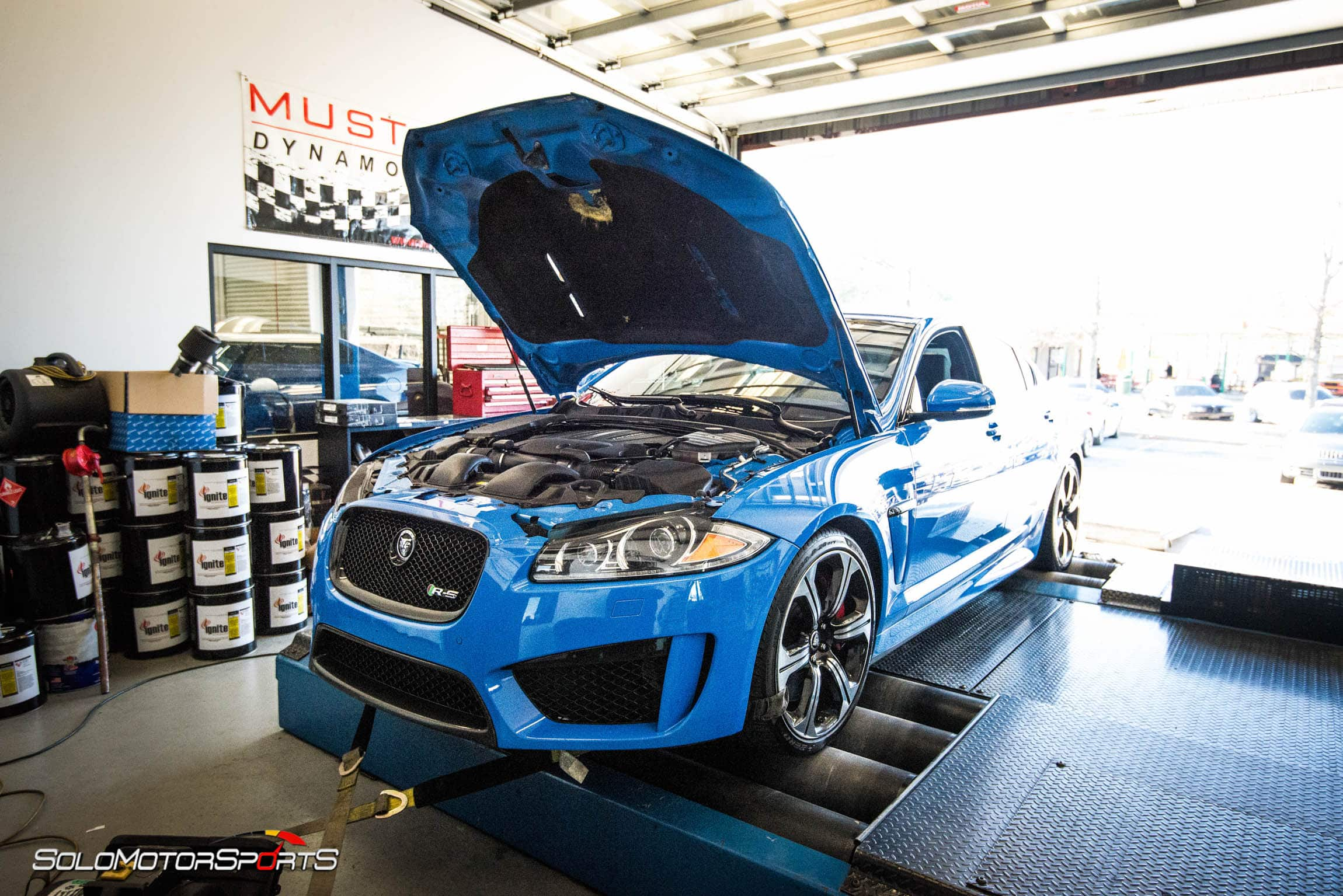 jaguar supercharged pulley tuning tune horsepower atlanta georgia xf rs customtune solo motorsports