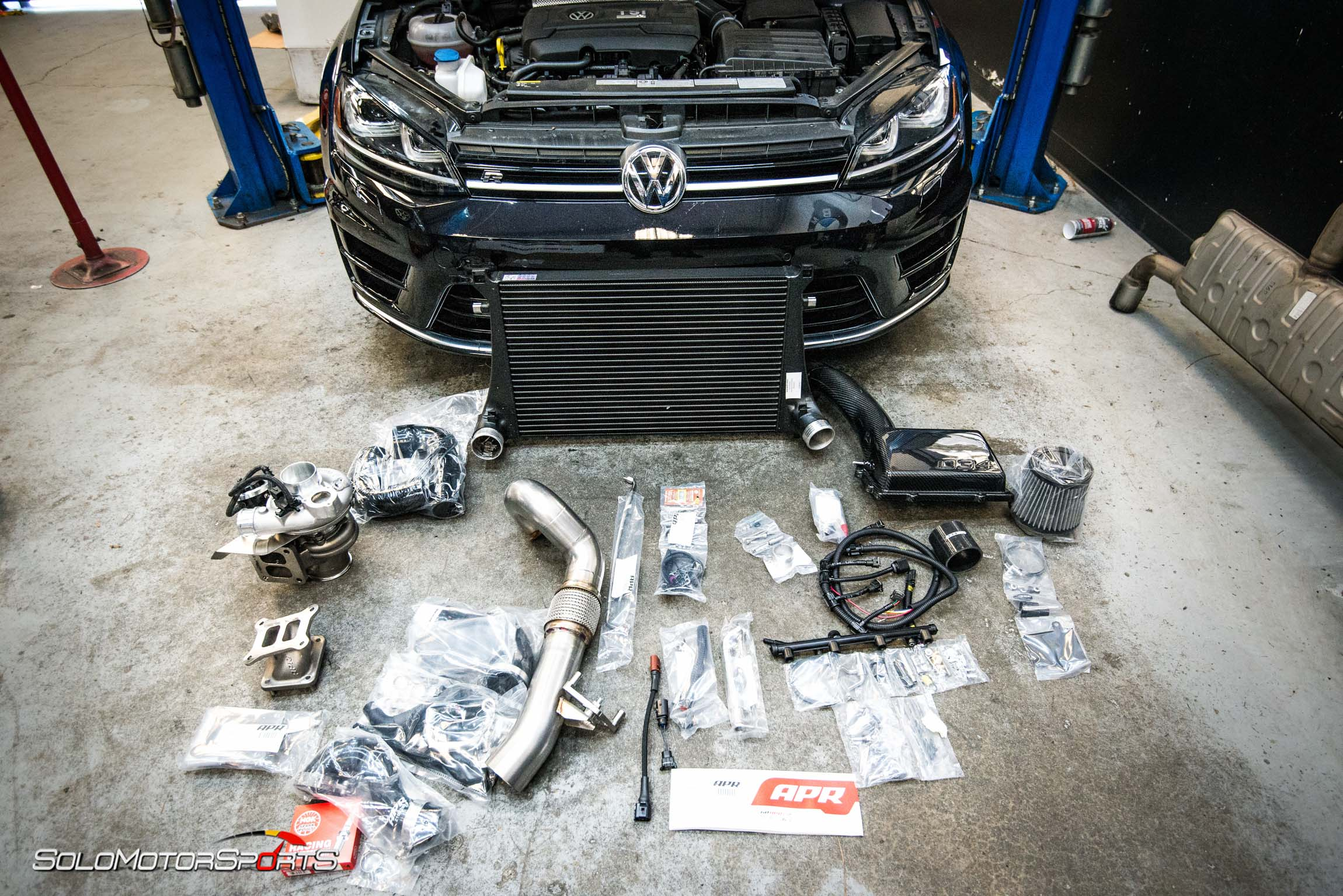 volkwagen vw golf r apr stage 3 034 motorsports big turbo stage3 stageIII dynometer dyno power bolt-ons one stop shop solo motorsports golfr bigturbo big turbo