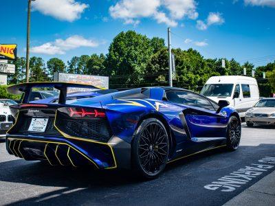SMSTune Prep   Ryft.Co Race Downpipes Install Lamborghini Aventador LP 750-4 SuperVeloce