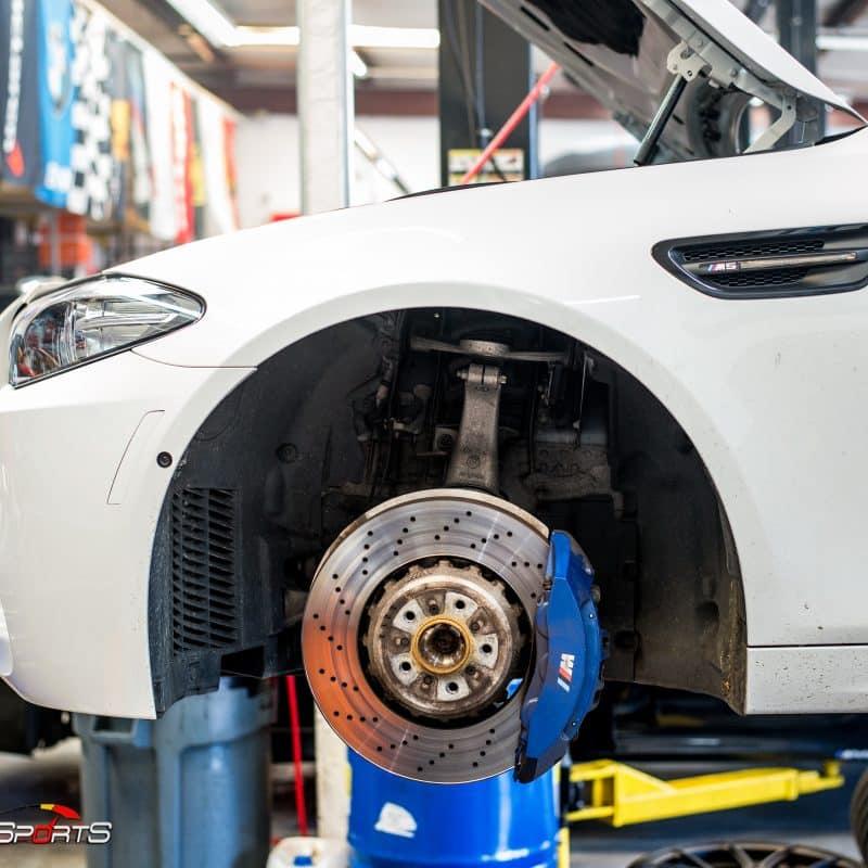 bmw m5 suspension coilover kit kw hotchkis kit one stop shop atlanta ga solo motorsports mpower mperformance suspension install