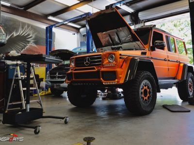 STG2-SMSTuned Mercedes Benz G550 GSquared SMS-FAB Downpipes