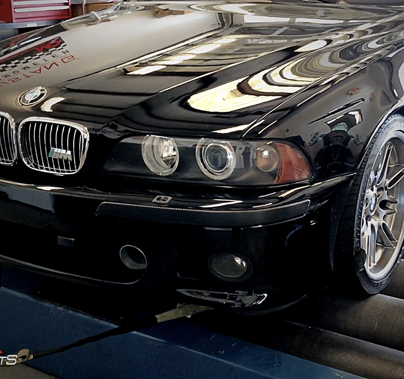 bmw e39 m5 v8 custom tune sms tune solo motorsports power gains mpower atlanta tuning bmwpower mperfomance