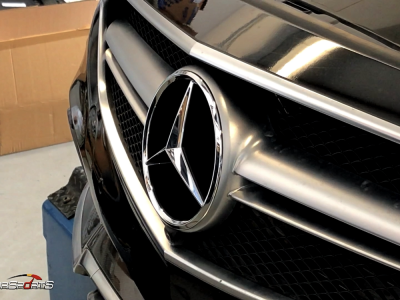 E63 AMG Weistec in for Power Recovery and Custom Exhaust