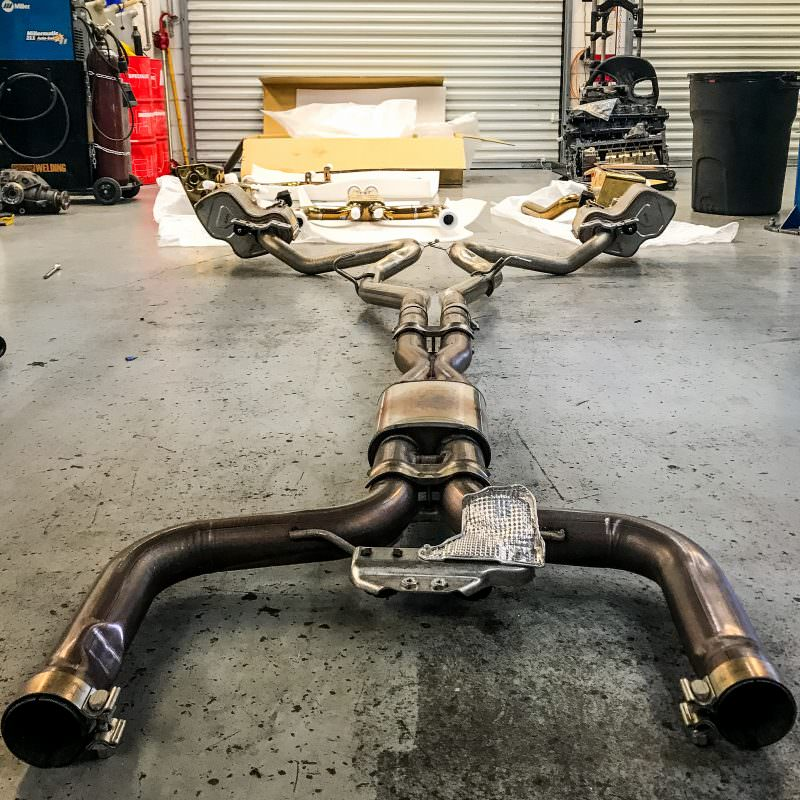 maserati levante suv exhaust install atlanta ga solo motorsports gold plated gold-plated exhaust one stop shop