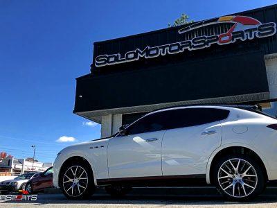 Maserati Levante in for Exhaust Install