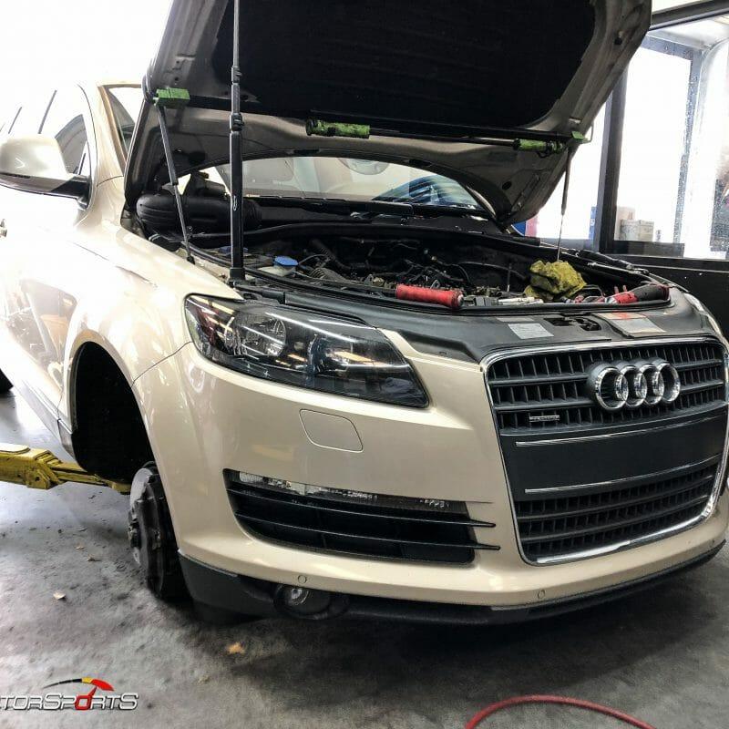 audi q7 vr6 v6 maintenance service repair quattro valve cover gasket ail filter fuel