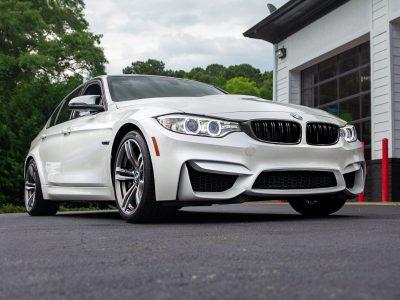BMW F80 M3 M Sport Exhaust + Carbon Fiber Accents Install