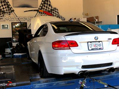 BMW M3 E92 in for Upgrades and Tune