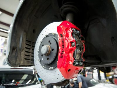 #SchooledbySolo- Stopping on a Dime with Big Brakes.