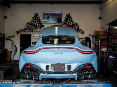 Proper English; The Aston Martin Vantage V8
