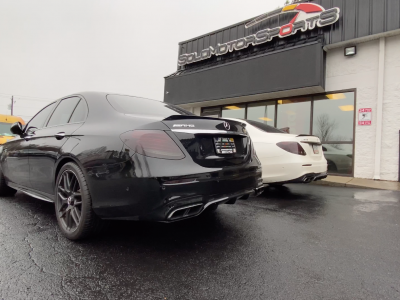 Double Trouble: Twin STG2-SMSTuned AMG E63s