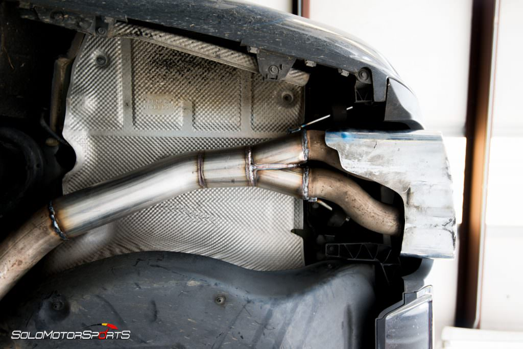 S65 Amg Gets Custom Exhaust Solo Motorsports