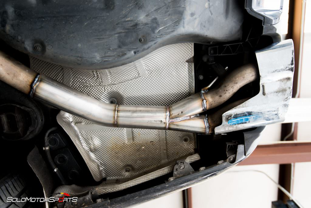 S65 Amg Gets Custom Exhaust Solo Motorsports