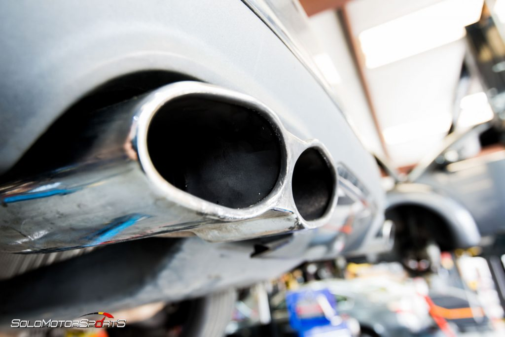 S65 AMG gets custom exhaust