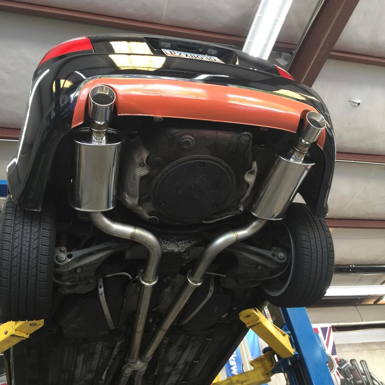 B6 2 7t Swap Custom Exhaust Solo Motorsports