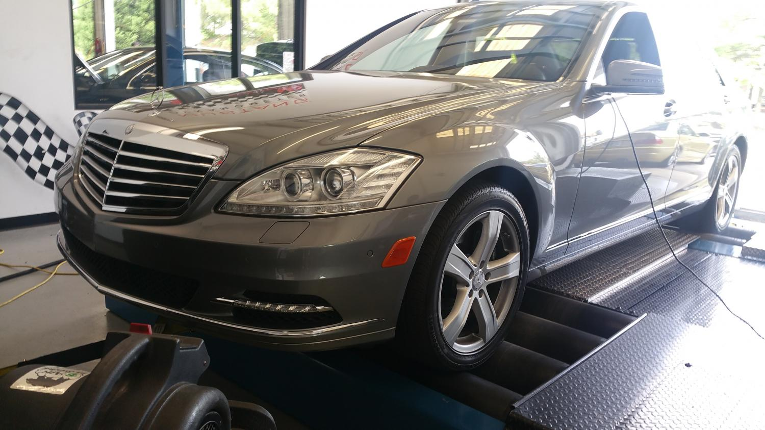 Mercedes S550 Dyno Tuning Solo Motorsports