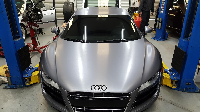 Audi R8 Solo Motorsports