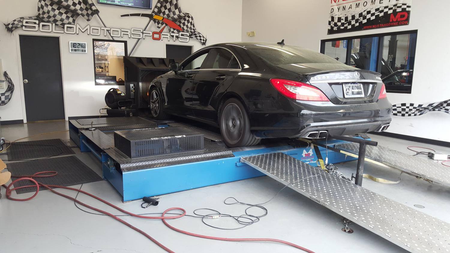 2013 Mercedes Cls63 Amg Tuning Solo Motorsports