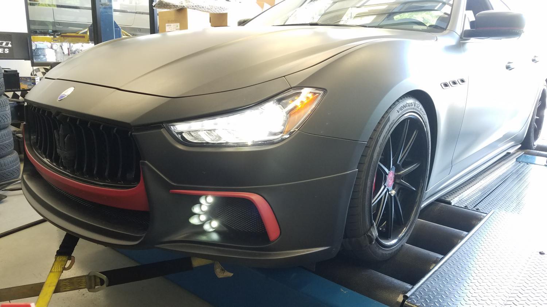 Maserati Ghibli Tuning Solo Motorsports