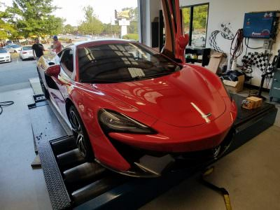 McLaren 570s in for Tuning